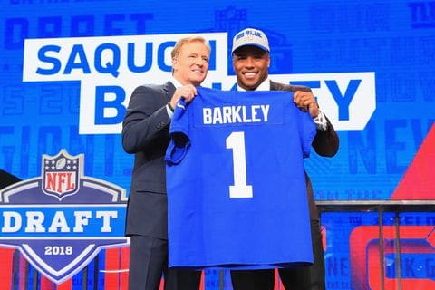 Draft ranking article Saquon Barkley