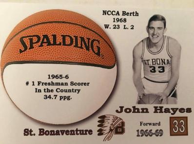 John Hayes Freshman Scoring Title 1966