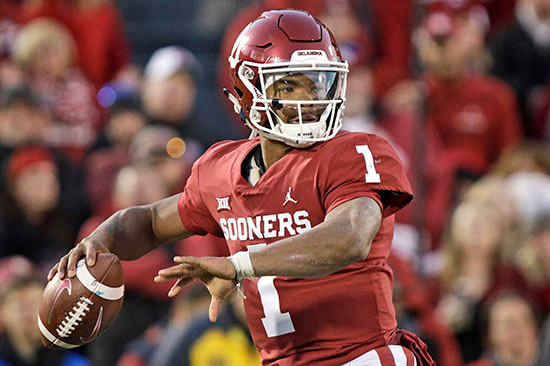 CFB Kyler Murray photo NY Post