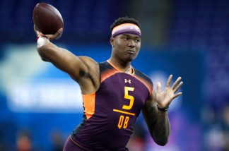 NFL Mock Draft Dwayne Haskins - New York Post